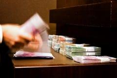 货币计数 库存图片