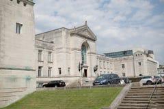 市中心南安普敦,汉普郡,英国 免版税库存图片