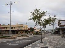市中心在阿尔巴尼,西澳州 库存照片