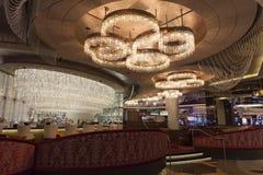市中心酒吧在拉斯维加斯, 2013年8月06日的NV 免版税库存图片