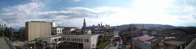 市中心马尼萨莱斯 库存图片