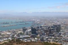 市中心,开普敦,南非 免版税库存图片