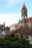 市中心(Tarnowskie GÃ ³ ry) 免版税库存图片