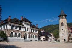 市中心Piatra Neamt 库存图片
