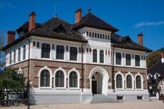 市中心Piatra Neamt 免版税库存图片