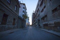 市内贫民区 库存照片