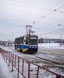 市内贫民区UrbanTrolleybus 库存照片