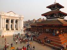 市加德满都,尼泊尔 库存图片