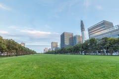市区绿色空间 免版税图库摄影