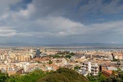 市卡利亚里,撒丁岛意大利 免版税库存图片