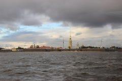 市圣彼德堡,堡垒 免版税库存照片