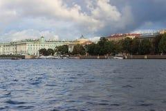 市圣彼德堡 库存照片