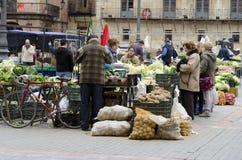 市场。 利昂 免版税库存图片