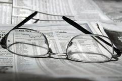 市场份额研究 免版税库存照片