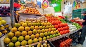 市场传统在墨西哥 免版税库存图片