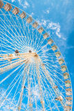 市场和游乐园弗累斯大转轮  免版税图库摄影