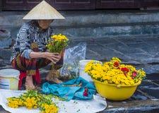 市场在会安市越南 免版税库存照片