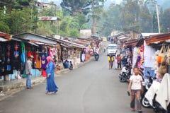 市场在印度尼西亚 库存照片