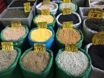 市场在圣地亚哥de智利 库存照片