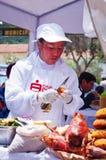 市场在库斯科省,秘鲁 免版税库存图片