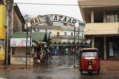 市场在斯里兰卡 库存照片