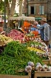 市场在普罗旺斯 免版税库存照片