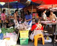 市场在清迈,泰国 免版税库存照片