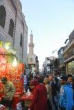 市场在老开罗 免版税图库摄影