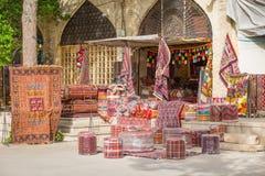 市场在设拉子,伊朗 库存照片