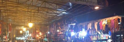 市场在马拉喀什 免版税库存图片