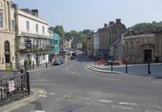 市场在Frome镇的中心 免版税图库摄影
