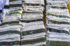 市场在Hawzien,提格雷,埃塞俄比亚 库存图片