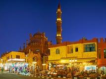 市场在Sharm El谢赫失去作用,埃及老镇  免版税库存照片