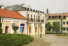 市场在Wlodawa 波兰 库存图片