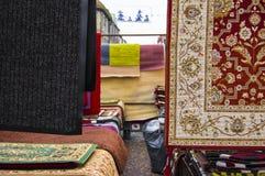市场地毯 免版税库存图片