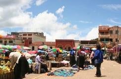 市场墨西哥 免版税库存照片