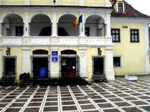 市场大厅在布拉索夫 免版税库存照片
