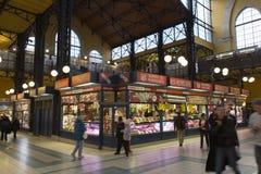 市场布达佩斯 免版税库存图片
