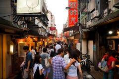 市场晚上shida 免版税库存图片