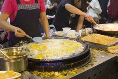 市场晚上shilin 免版税图库摄影