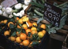 市场桔子 免版税库存照片