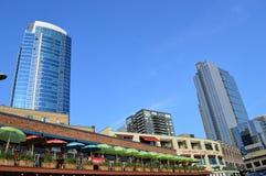 市场矛安排西雅图 免版税库存照片