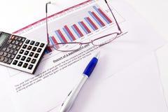 市场研究 免版税库存照片
