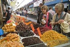 市场耶路撒冷 免版税库存照片