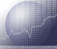 市场股票 皇族释放例证