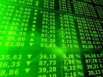 市场股票 免版税库存照片
