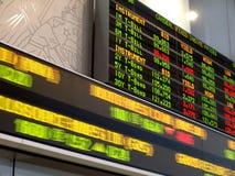 市场股票 库存照片