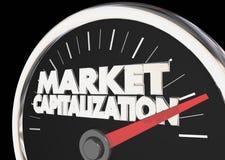 市场资本化措施 免版税库存照片