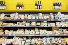 市场超级市场内部 图库摄影