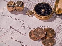 市场页股票 图库摄影